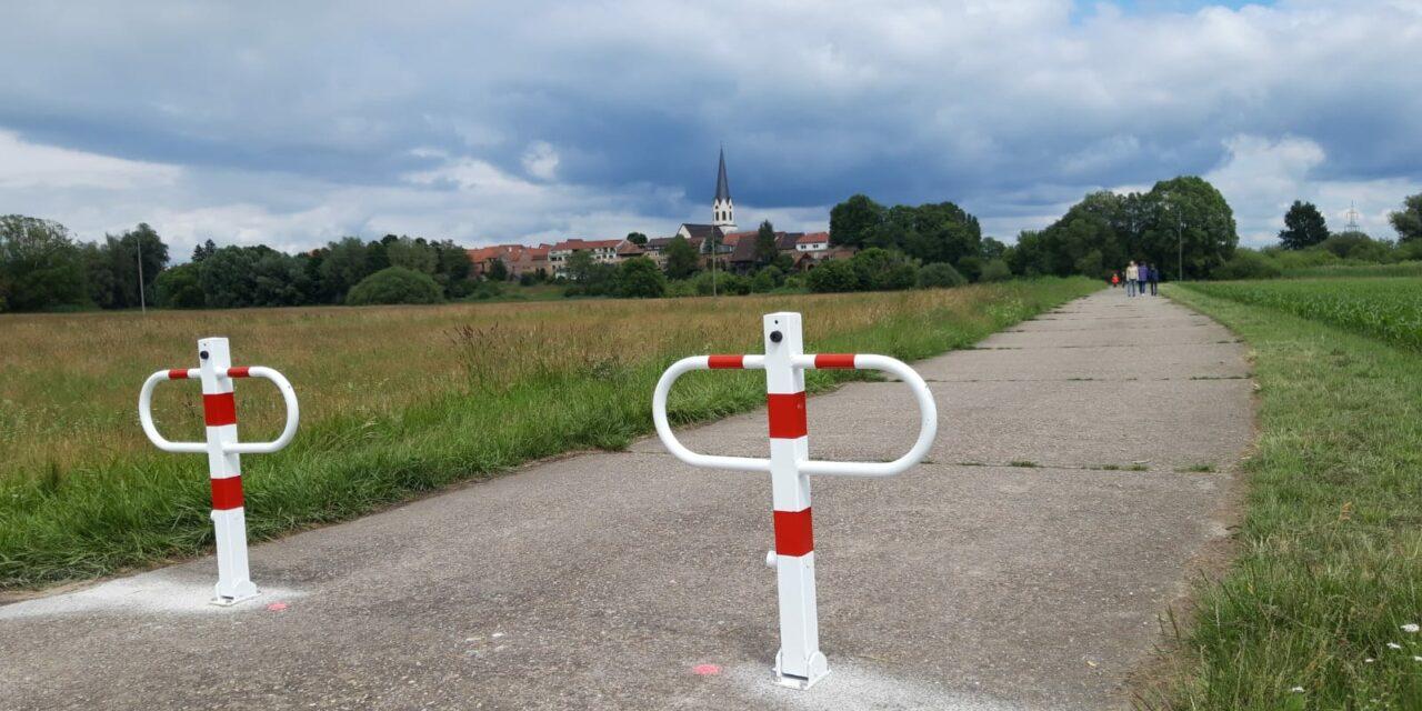 """Durchfahrtsbegrenzung """"Roter Weg"""""""