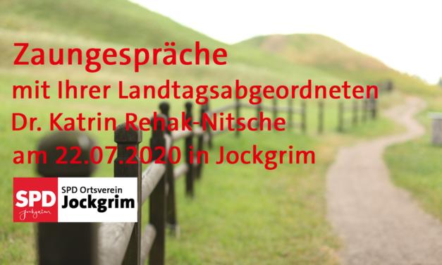 Zaungespräche mit Dr. Katrin Rehak-Nitsche